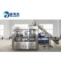 Carbonated Drink Glass Bottle Filling Machine With Automatic Capping Machine Manufactures