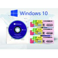 China Windows 10 Pro Genuine Product Key , License Retail Online Activation Key Code on sale