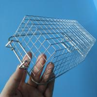 Heat Resistant Metal Wire Mesh Basket For Household / Store / Supermarket Manufactures
