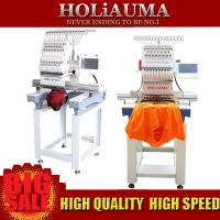 Top sell single head computer machine embroidery clothes hat cap shoes and so on Manufactures