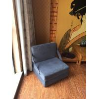 Anti Mites Fold Out Foam Sofa Bed , 1 Seater Sofa Bed With Zippered Washable Cover Manufactures