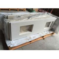 """22"""" X 73"""" Engineered Bathroom Vanity Countertops With Double Rectangle Cutouts Manufactures"""