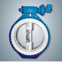 Quality Teflon Line Butterfly Valve Warm Connection for sale