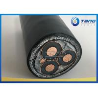 China 12 / 20kV MV XLPE Insulated Power Cable 3 × 120mm2 With CU / AL Conductor on sale