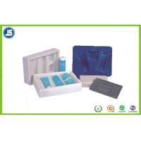 blister inner Plastic Cosmetic Trays PS flocking makeup storage boxes Manufactures