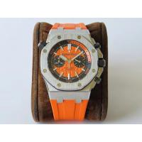 China AP Royal Oak Offshore Diver Chrono SS/RU Orange JF A3126 - AP009A on sale