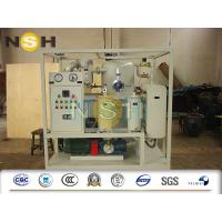 China Double Stage High Vacuum Insulation Oil Purifier Machine 380V / 3P / 50Hz on sale