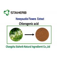 Quality Honeysuckle Flowers Chlorogenic Acid Extract Light Yellow Powder Food Grade for sale