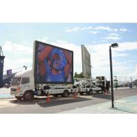 China Truck Mounted LED Mobile Advertising , Mobile Truck LED Display on sale