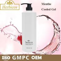 1000ml natural organic Menthe Cooled Skin Gel Cold Mask for keeping calm Manufactures