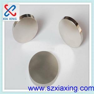 China N35 Round  Neodymium Magnets Disc on sale