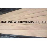 China Quarter Cut Natural Red Oak Veneer Sheets 2.5m Length For Plywood on sale