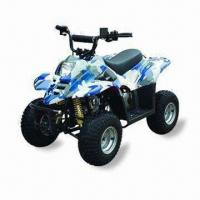 China Children's 50cc ATV with Red Body, Automatic Transmission on sale