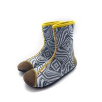 Quality 2mm Eco - Friendly Neoprene Water Boots Protectove Toe Design Antiskid Sole for sale
