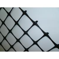 Reinforced Soil Retaining Wall Geogrid , Heavy Duty Geogrid Reinforcing Fabric Manufactures