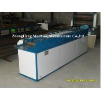 China Steel Frame Rolling Shutter Strip Forming Machine 50hz 40mm Solid Forming Shaft on sale