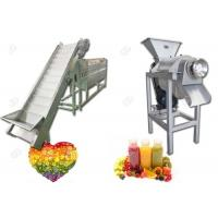 Automatic Complete Fruit Juice Production Line For Commerical CE Standard Manufactures