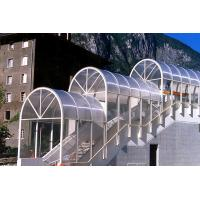 Sunproof Lexan Twin Wall Polycarbonate Sheet , Clear Polycarbonate Panels 4mm Manufactures