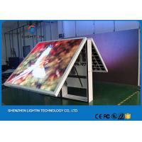 Small P8 Mobile Front Service Led Display Board / Led Backdrop Screen Manufactures