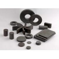 China Y30 Sintered Ferrite Magnet , Ceramic Magnet For Speaker Parts on sale