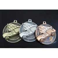 Antique Plating 3D Design Custom Zinc Alloy Metal Engraved Racing Bicycle Medals Without Soft Enamel Manufactures