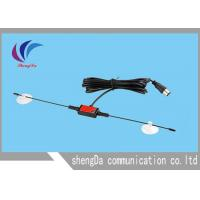 China Portable Horn Digital Broadcast TV Antenna  , UHF VHF Outdoor TV Antenna 3M Sticker on sale