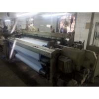China Somet Sm93 190cm Used Rapier Loom Year 1992 with Staubli 2232 Dobby Was Weaving White Cloth on sale