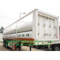 CNG Liquid Tank Trailer , FUWA 13T with FUWA brand axles Manufactures