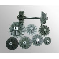 Turbo fan wheels parts vacuum investment casting High temperature nickel base alloy Manufactures