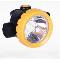 Inductive Charging Coal Miners Hat Light , Rechargeable Miners Headlamp Manufactures