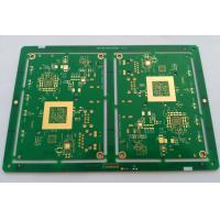 10 layers HDI FR-4 PCB ENIG green soldmask white silkscreen min drill hole 0.1mm Manufactures