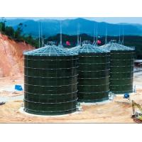 China Glass Fused To Steel Industrial Water Tanks Enamel Technology Low Consumption on sale