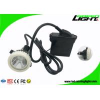 CE LED Mining Light IP68 Waterproof 6.6Ah Rechargeable Li - Ion Battery 10000lux Brightness Manufactures