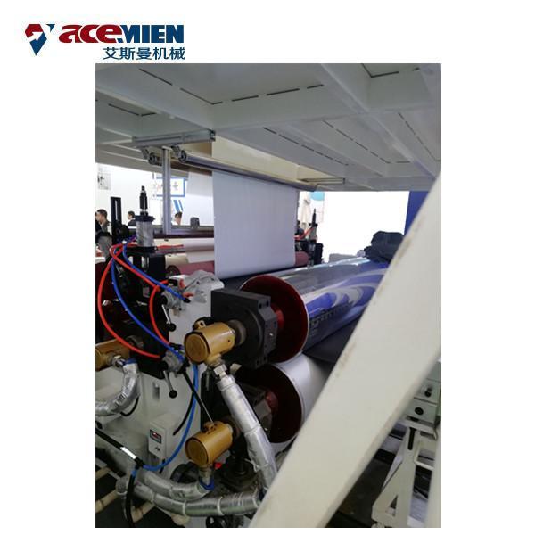 Quality Multi Layer SPC Flooring Making Machine , LVT Vinyl Plank Floor Production Line for sale