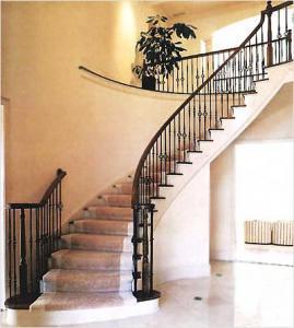 Iron Stair Handrail XJ061 Manufactures