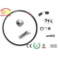 China Commercial Front Hub Electric Bike Kit , High Efficiency Electric Bike Wheel Hub Kit on sale