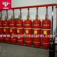 Fire gas extinguisher pipeline FM200 extinguishing systems 180L Manufactures