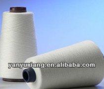 30/1 raw white polyester spun closed virgin yarn instock Manufactures