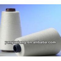 high quality polyester spun virgin yarn 42s/1 for knitting Manufactures