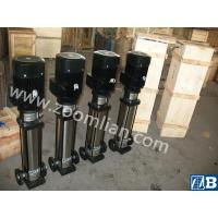 China Vertical Multistage Centrifugal Pump for chemical industry on sale
