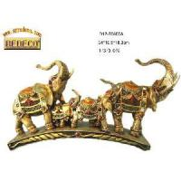 Home Decoration Resin Elephant Figurine (70500-A) Manufactures