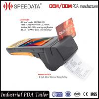 4G LTE Mobile Handheld Smart Card Reader PDA Industrial with Portable Thermal Printer Manufactures