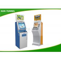 Food Ticket Vending Machine , Card Dispenser Self Service Kiosk 19 Inch Touch Screen Manufactures
