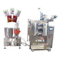 VFFS Full Automated Sauce Packing Machine With 3 / 4 Sides Seal , 4KW/AC 380V Manufactures