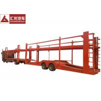 New Design Vehicle Transport Trailer Highly Reliable 2 Axles With Cummins Engine Manufactures