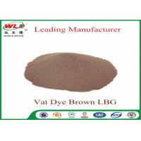 Synthetic Textile Reactive Dyes Vat Brown Lbg Textile Dyes And Chemicals Manufactures
