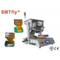 High Precision FPC Bonding Machine , Hot Bonding Machine Three Heating Sections Manufactures