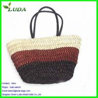 Multicolor Straw Shoulder Bag