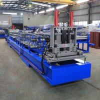 China C Channel Steel Roll Forming Machine , C Shaped Purlins Forming Machine on sale