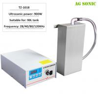 Stainless Steel Waterproof Ultrasonic Transducer Plate 900W for 90L Tank Manufactures